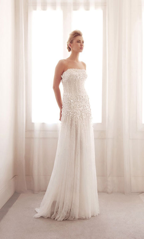 3747 gown from the 2014 Gemy Maalouf collection, as seen on Bride.Canada