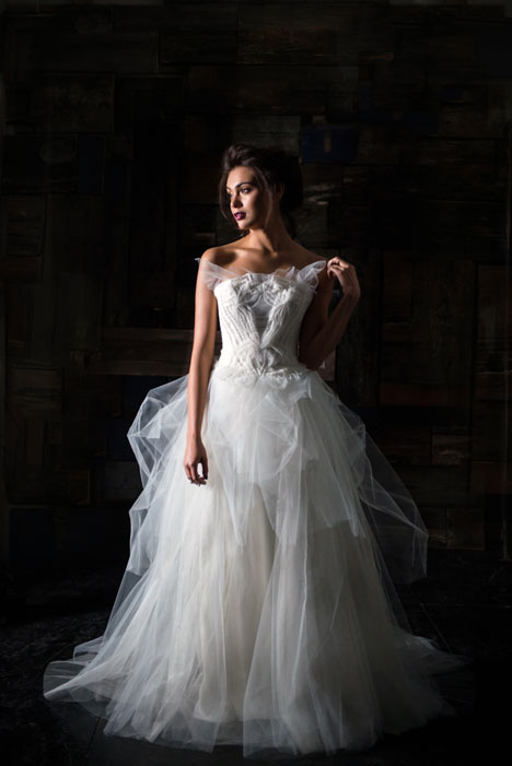 Le Monde gown from the 2014 Carol Hannah collection, as seen on Bride.Canada