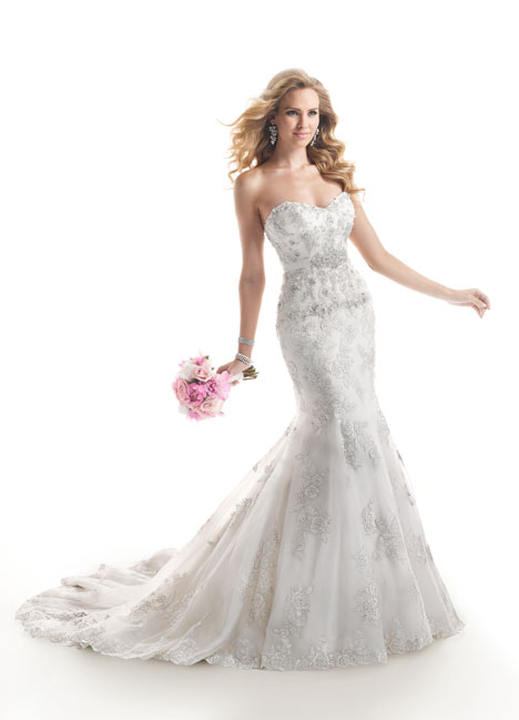 Ainsley gown from the 2014 Maggie Sottero collection, as seen on Bride.Canada