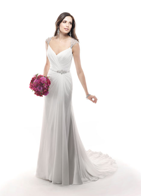 Bryce gown from the 2014 Maggie Sottero collection, as seen on Bride.Canada