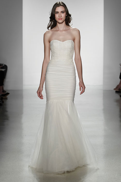 Aura gown from the 2014 Christos collection, as seen on Bride.Canada