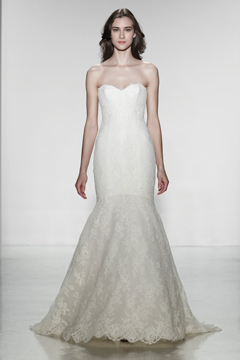 Colette gown from the 2014 Christos collection, as seen on Bride.Canada