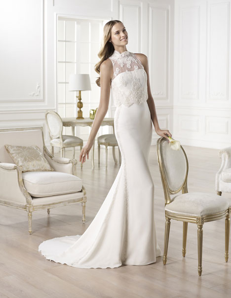 Yamilet gown from the 2014 Pronovias collection, as seen on Bride.Canada