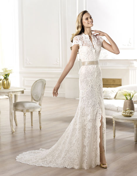 Yanguas gown from the 2014 Pronovias collection, as seen on Bride.Canada