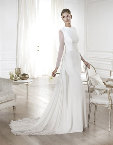 Yelice gown from the 2014 Pronovias collection, as seen on Bride.Canada