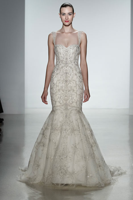 Gabrielle gown from the 2014 Kenneth Pool collection, as seen on Bride.Canada