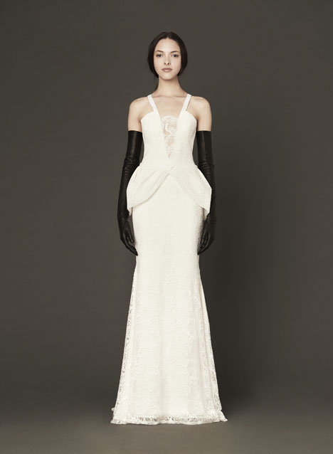 Madeline gown from the 2014 Vera Wang collection, as seen on Bride.Canada