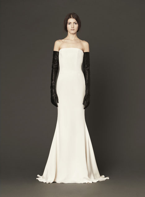 Maeve gown from the 2014 Vera Wang collection, as seen on Bride.Canada