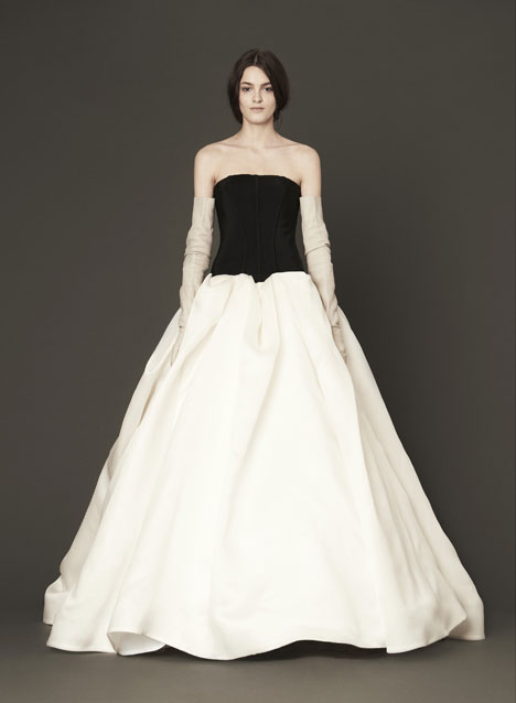 Miriam gown from the 2014 Vera Wang collection, as seen on Bride.Canada