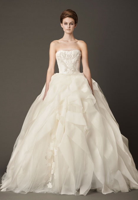Liesel gown from the 2013 Vera Wang collection, as seen on Bride.Canada