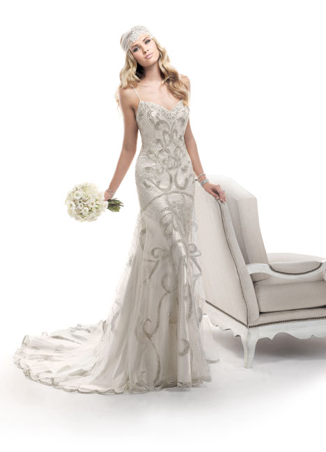 Chancey gown from the 2014 Maggie Sottero collection, as seen on Bride.Canada