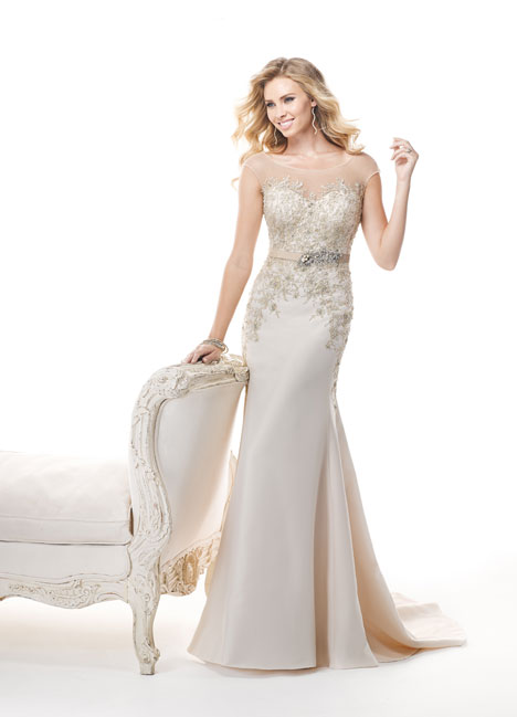 Clancy gown from the 2014 Maggie Sottero collection, as seen on Bride.Canada
