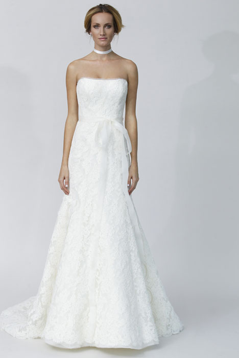 Angioletta gown from the 2014 Rivini collection, as seen on Bride.Canada