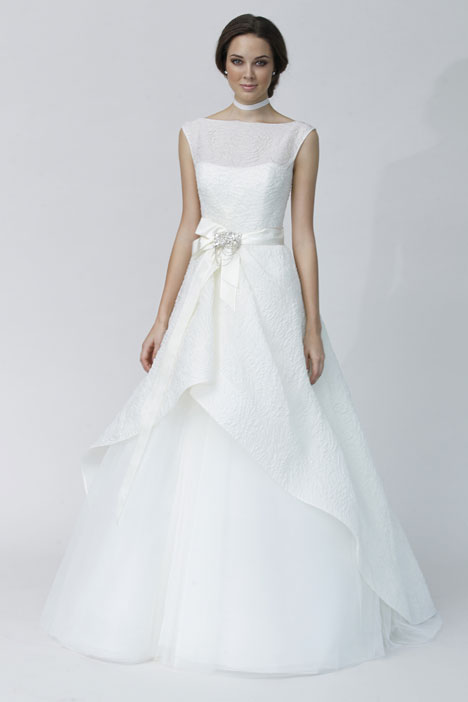 Antonella gown from the 2014 Rivini collection, as seen on Bride.Canada