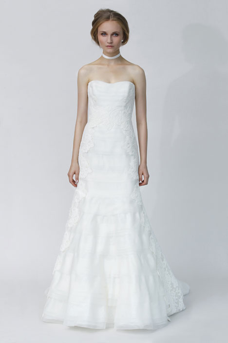 Cila gown from the 2014 Rivini collection, as seen on Bride.Canada