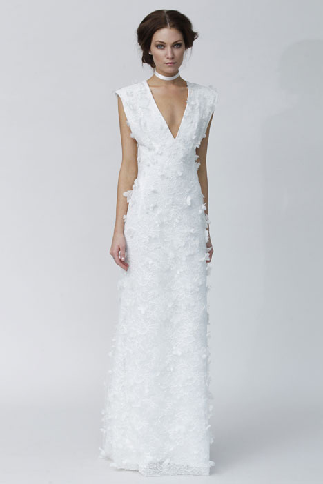 Grazia gown from the 2014 Rivini collection, as seen on Bride.Canada