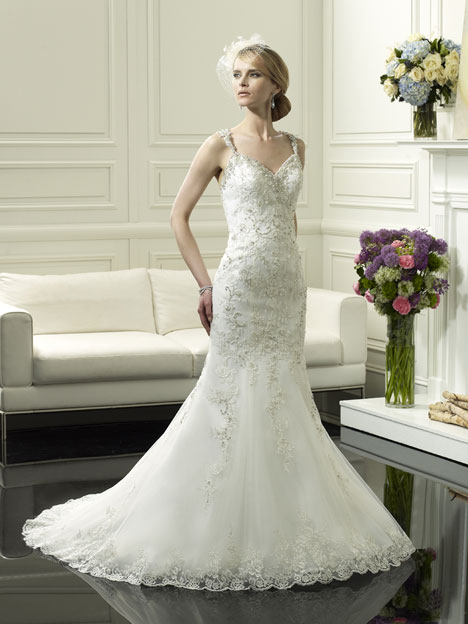 H1247 gown from the 2014 Moonlight : Couture collection, as seen on Bride.Canada