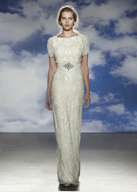 Harlow gown from the 2015 Jenny Packham collection, as seen on Bride.Canada
