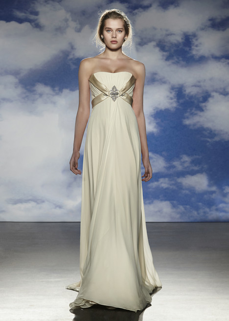 Coco gown from the 2015 Jenny Packham collection, as seen on Bride.Canada
