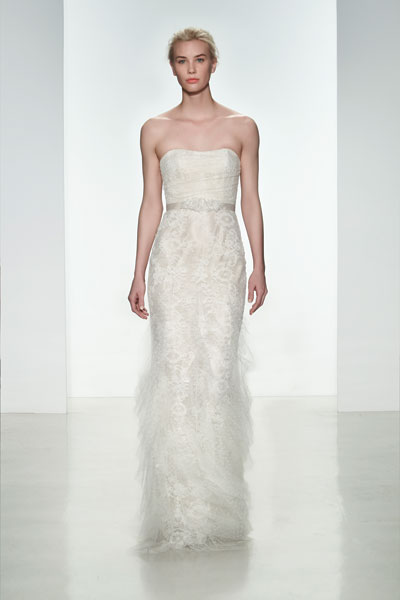 Peyton gown from the 2015 Christos collection, as seen on Bride.Canada
