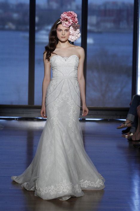 Izel gown from the 2015 Ines Di Santo collection, as seen on Bride.Canada