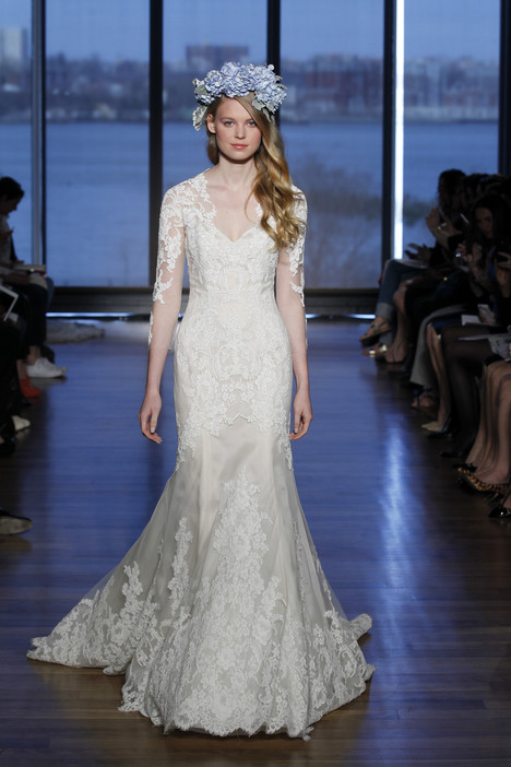 Silvine gown from the 2015 Ines Di Santo collection, as seen on Bride.Canada