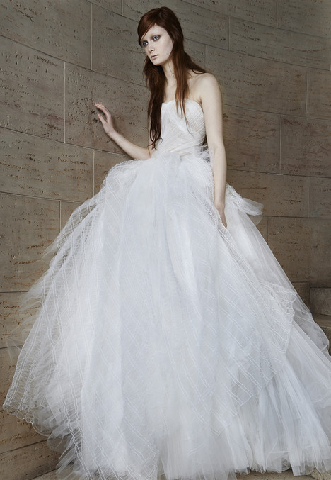 Octavia gown from the 2015 Vera Wang collection, as seen on Bride.Canada