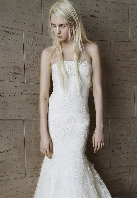 Olivia gown from the 2015 Vera Wang collection, as seen on Bride.Canada