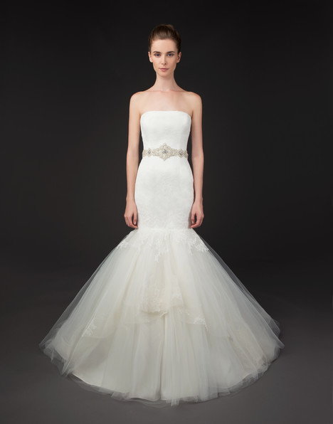 Gabby gown from the 2015 Winnie Couture : Blush collection, as seen on Bride.Canada