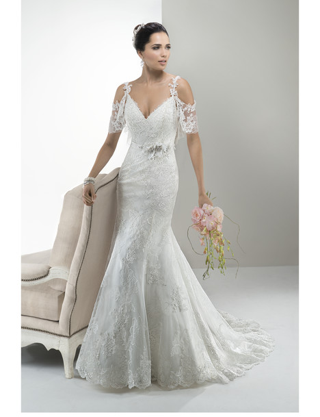 Anna gown from the 2014 Maggie Sottero collection, as seen on Bride.Canada