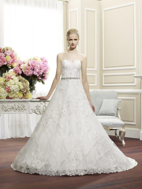 H1265 gown from the 2014 Moonlight : Couture collection, as seen on Bride.Canada