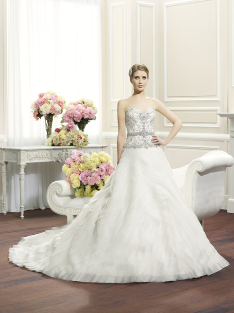 H1266 gown from the 2014 Moonlight : Couture collection, as seen on Bride.Canada
