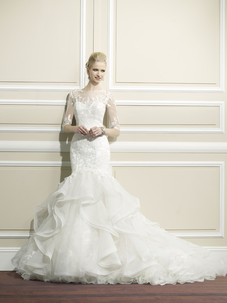 H1267 gown from the 2014 Moonlight : Couture collection, as seen on Bride.Canada