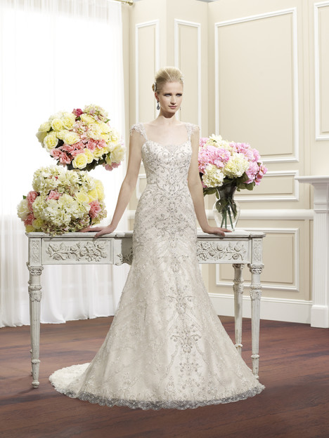 H1268 gown from the 2014 Moonlight : Couture collection, as seen on Bride.Canada