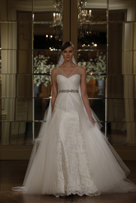 L5102 gown from the 2015 Legends Romona Keveza collection, as seen on Bride.Canada