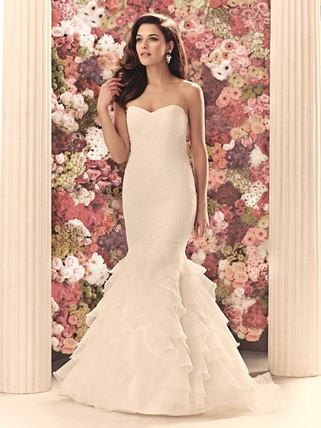 1905 gown from the 2014 Mikaella collection, as seen on Bride.Canada