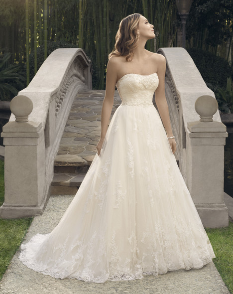 2170 gown from the 2014 Casablanca Bridal collection, as seen on Bride.Canada