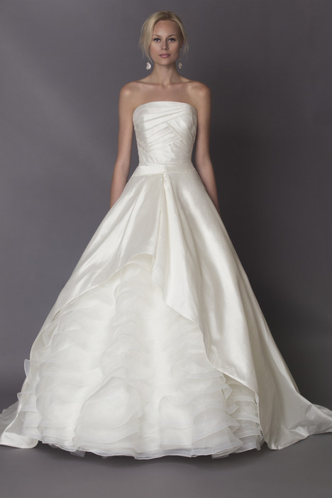 Camille gown from the 2015 Alyne collection, as seen on Bride.Canada