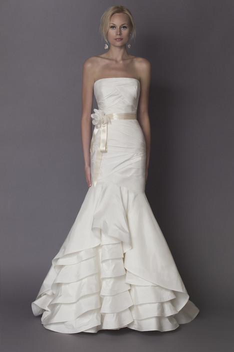 Nina gown from the 2015 Alyne collection, as seen on Bride.Canada