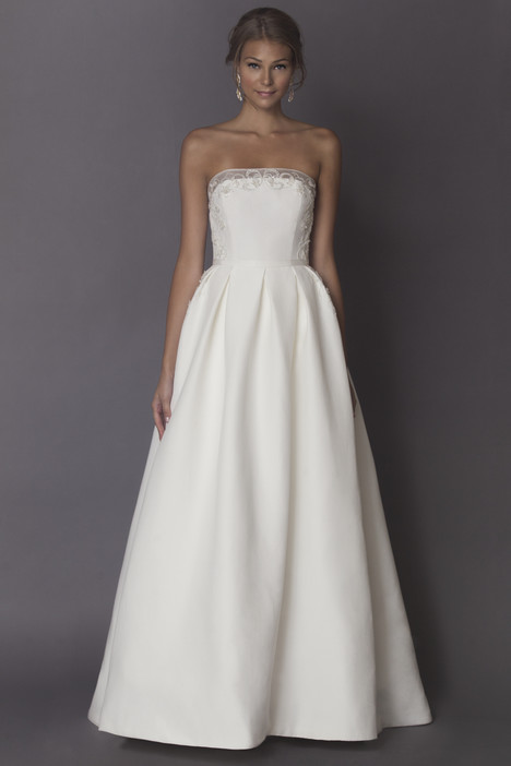 Maryse gown from the 2015 Alyne collection, as seen on Bride.Canada