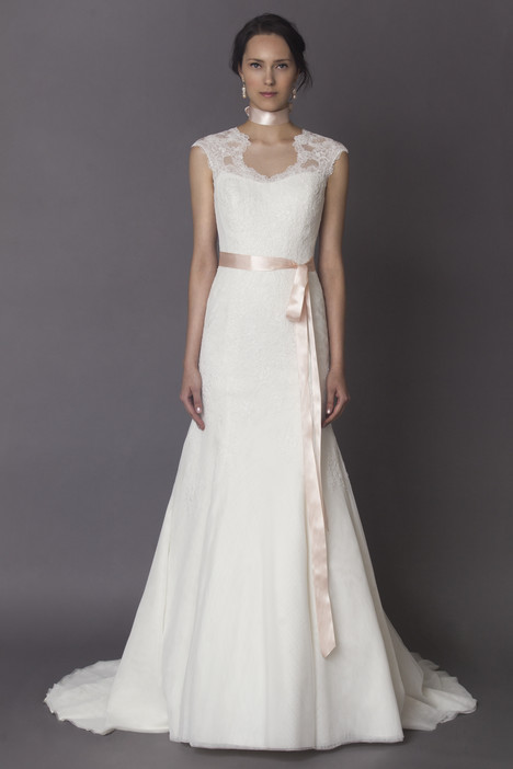Celia gown from the 2015 Alyne collection, as seen on Bride.Canada