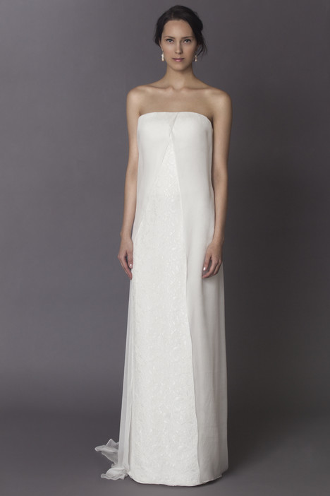 Lola gown from the 2015 Alyne collection, as seen on Bride.Canada