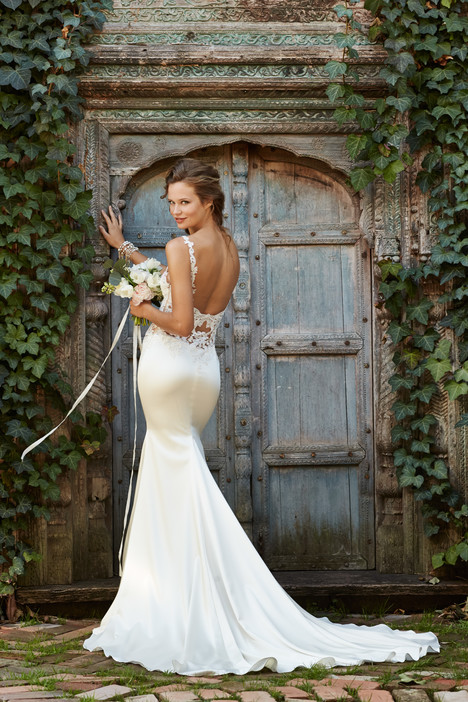 Cora (back) gown from the 2014 Watters: Willowby collection, as seen on Bride.Canada