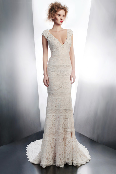 4130 gown from the 2015 Gemy Maalouf collection, as seen on Bride.Canada