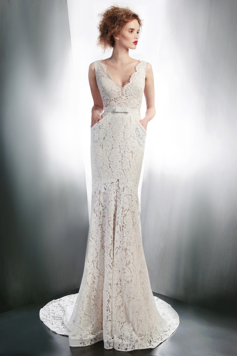 4139 gown from the 2015 Gemy Maalouf collection, as seen on Bride.Canada