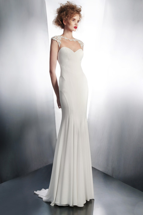 4143 gown from the 2015 Gemy Maalouf collection, as seen on Bride.Canada