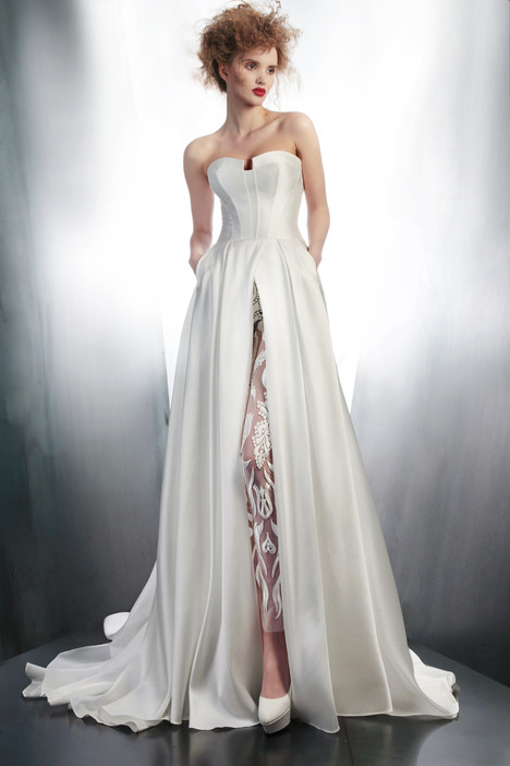 4145TU + 3972L gown from the 2015 Gemy Maalouf collection, as seen on Bride.Canada