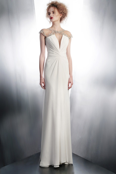 4170 gown from the 2015 Gemy Maalouf collection, as seen on Bride.Canada