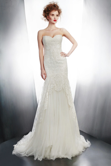 4171 gown from the 2015 Gemy Maalouf collection, as seen on Bride.Canada