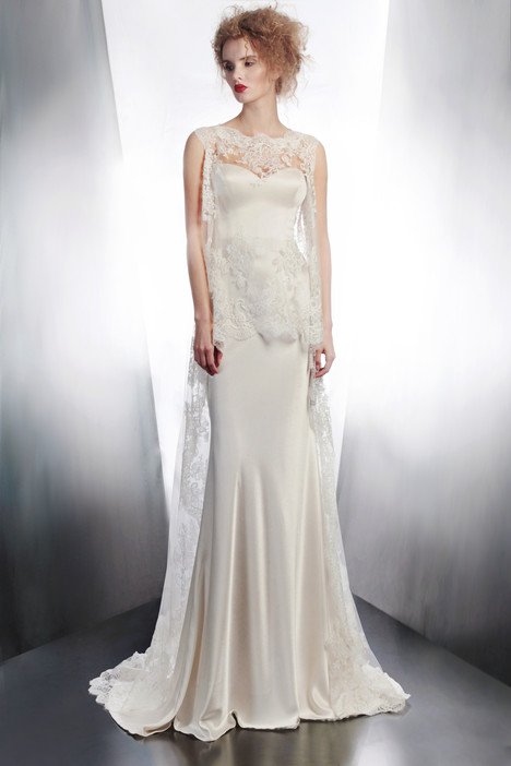 4175TU + 4134 gown from the 2015 Gemy Maalouf collection, as seen on Bride.Canada